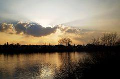 Im Licht der Abendsonne
