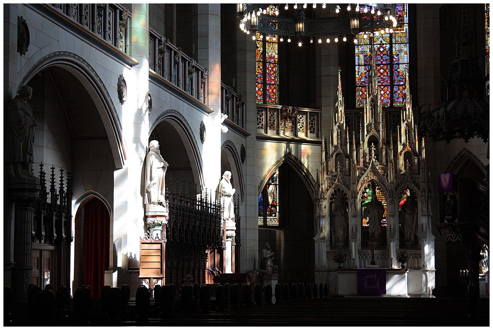 Im Licht -  Schlosskirche Wittenberg 2