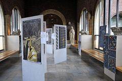 """""""Im Licht und Schatten des Kreuzes"""", meine neue  Ausstellung in Coesfeld in der St. Jakobikirche"""