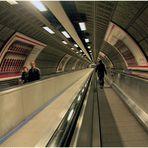 Im Londoner Untergrund