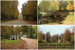 Im Ludwigsluster Park ...