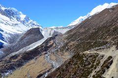 Im Manaslu-Gebiet vor Dharamsala (4470 m)