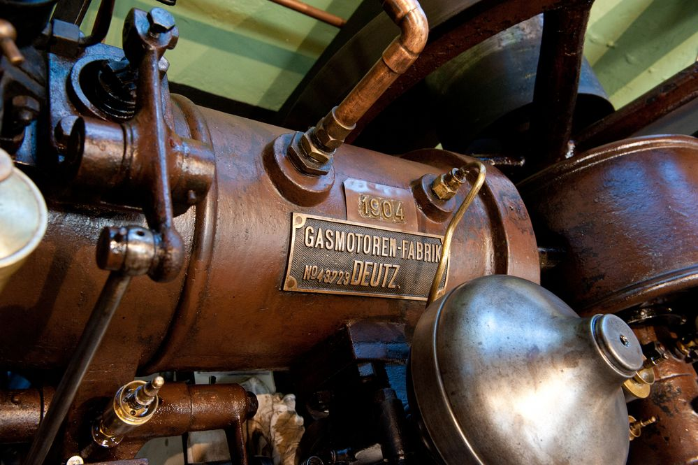im Maschinen- u- Heimatmuseum Eslohe