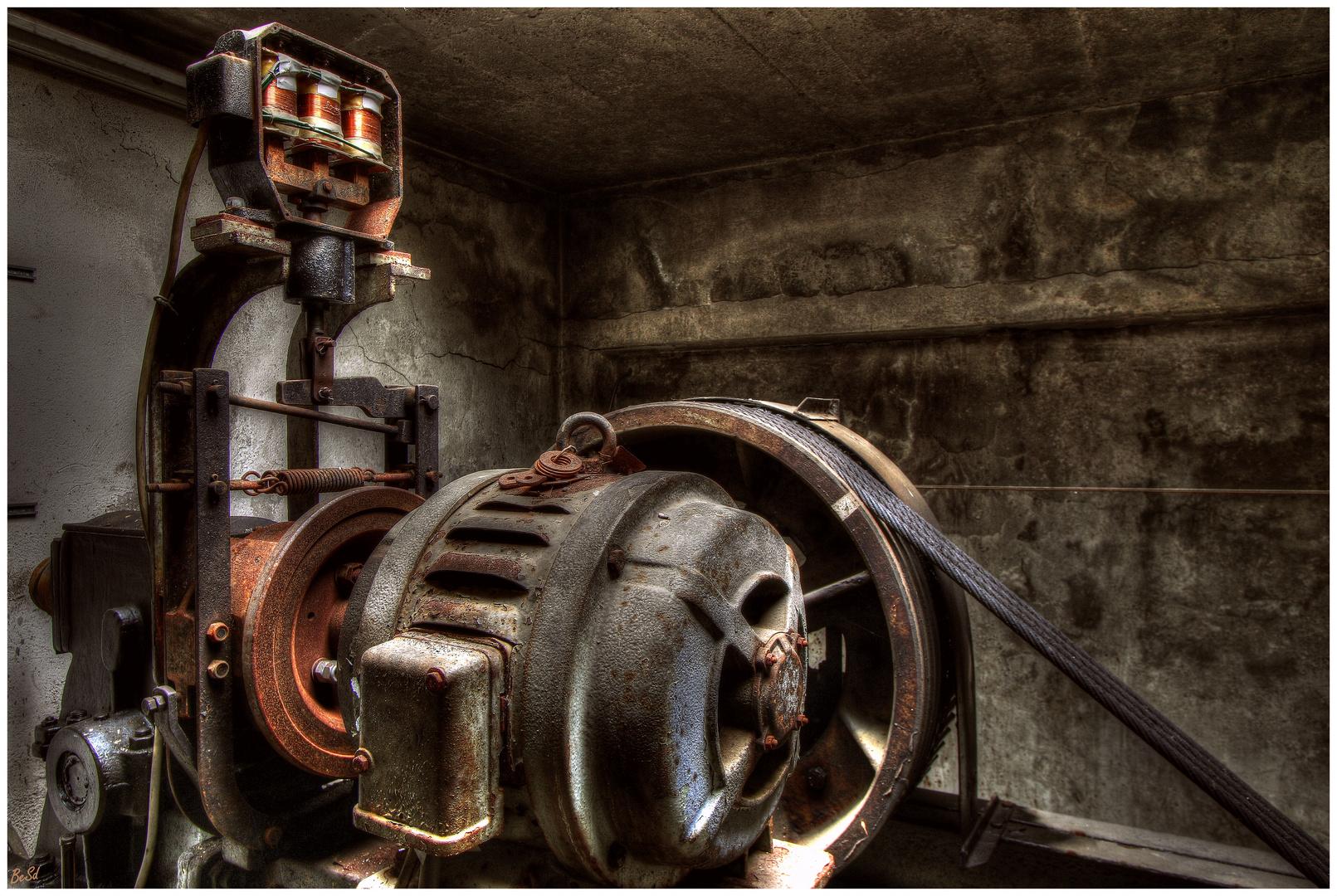 Im Maschinenraum......