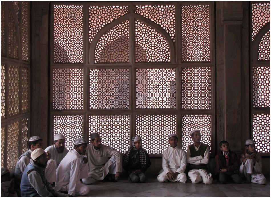 Im Mausoleum des Salim Christi