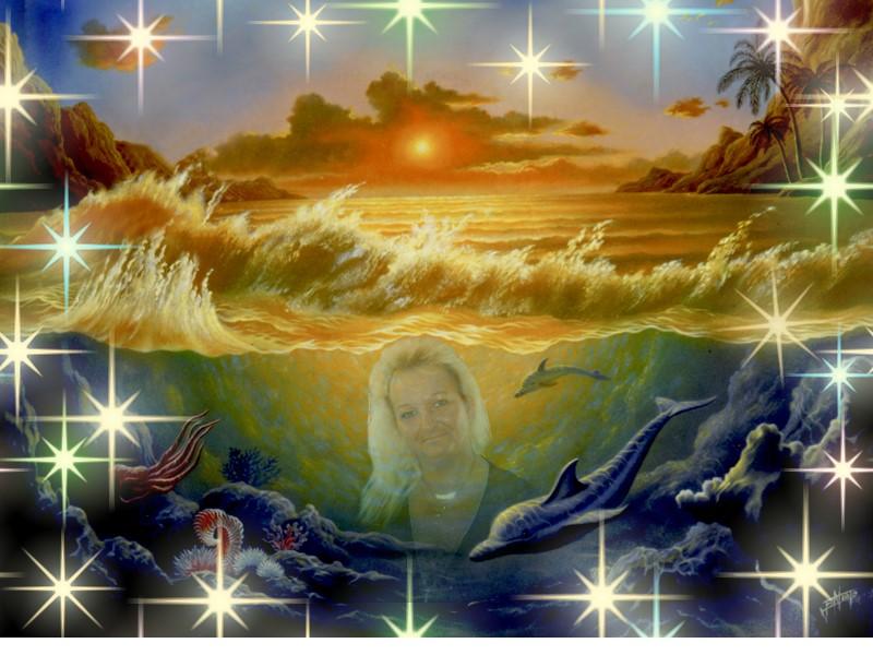 im Meer versunken.....