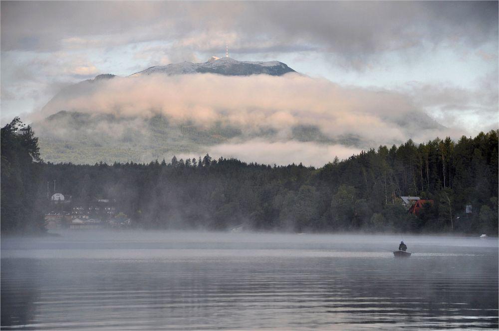 im Morgen - Nebel...