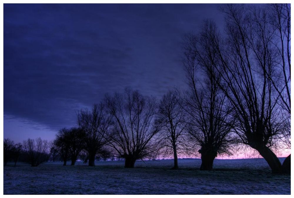 .... im Morgengrauen