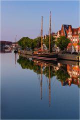 Im Museumshafen in Lübeck