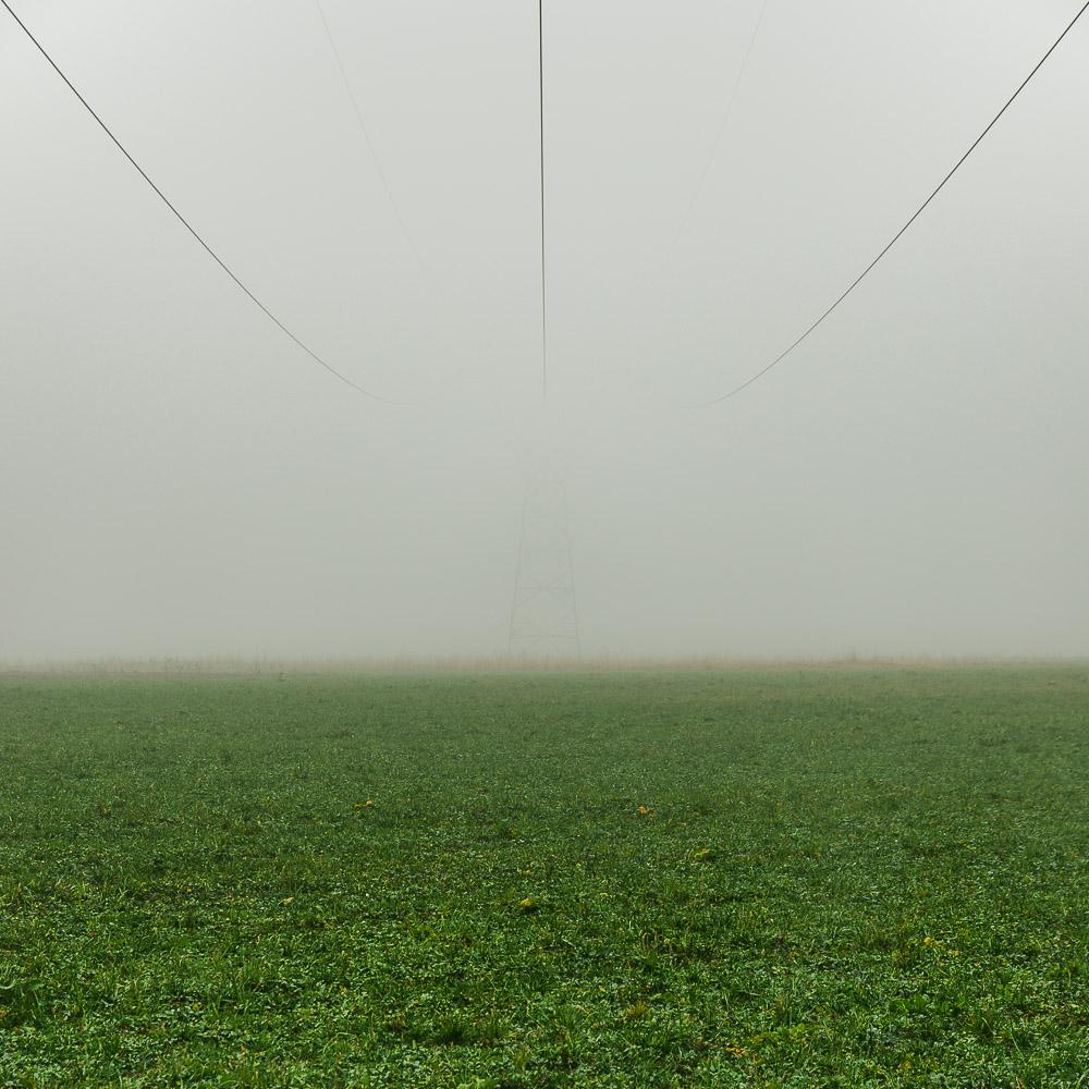 Im Nebel untergetaucht