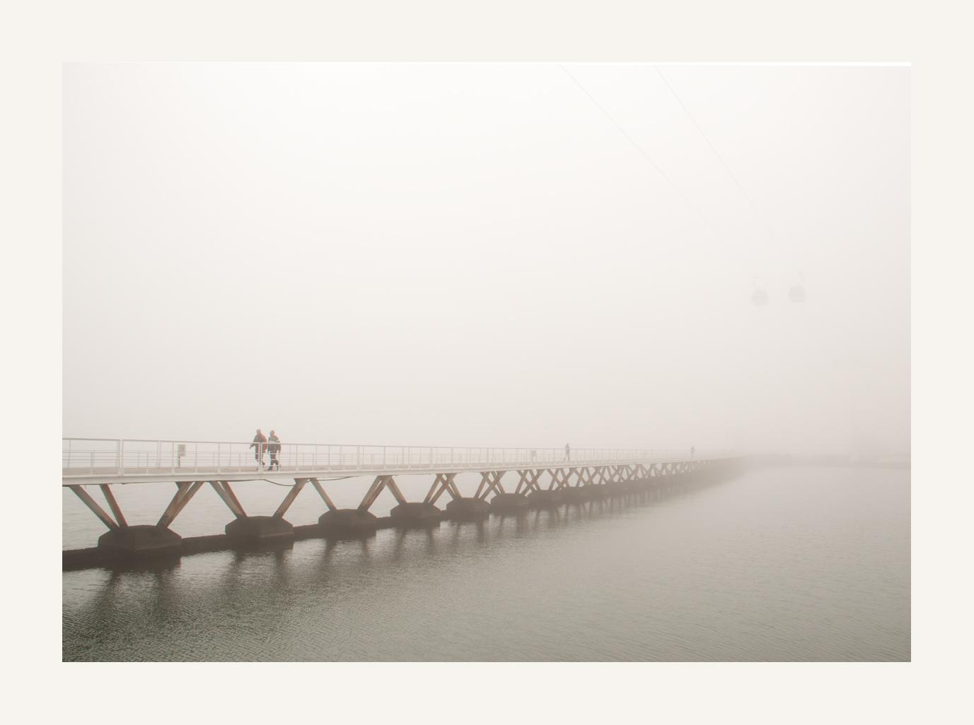 im Nebel verschwunden