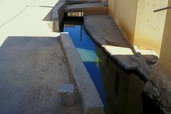 im Oman fließt wenig Wasser...