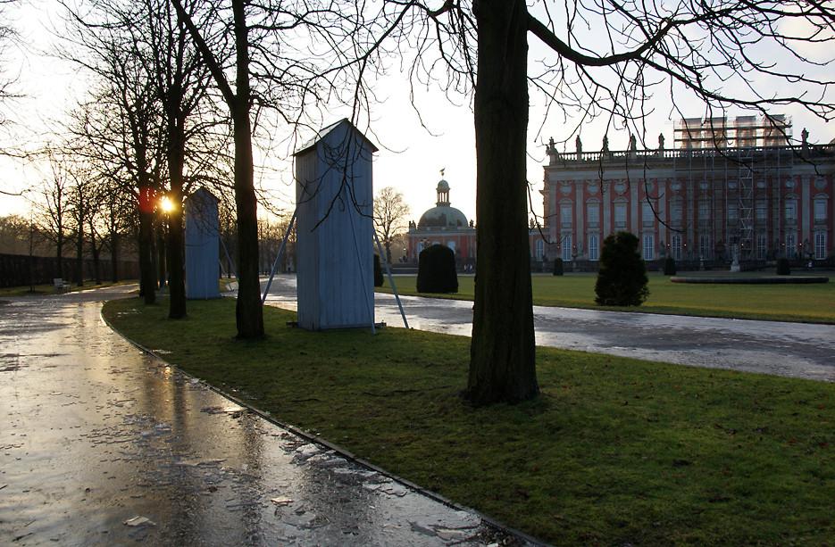 Im Park von Sanssouci, 25.01.09 – 11