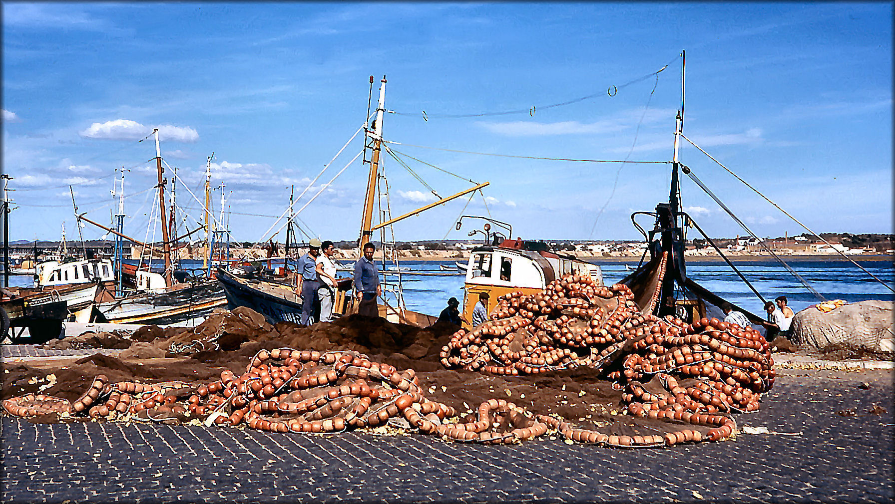Im Portimão Hafen