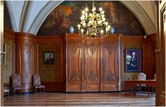 Im Rathaus von Aachen