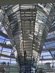 Im Reichstag von Berlin für Schärfefanatiker