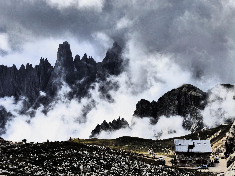 Im Rücken der Drei Zinnen - Südtirol