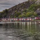 Im Schärengarten - Bootshäuser