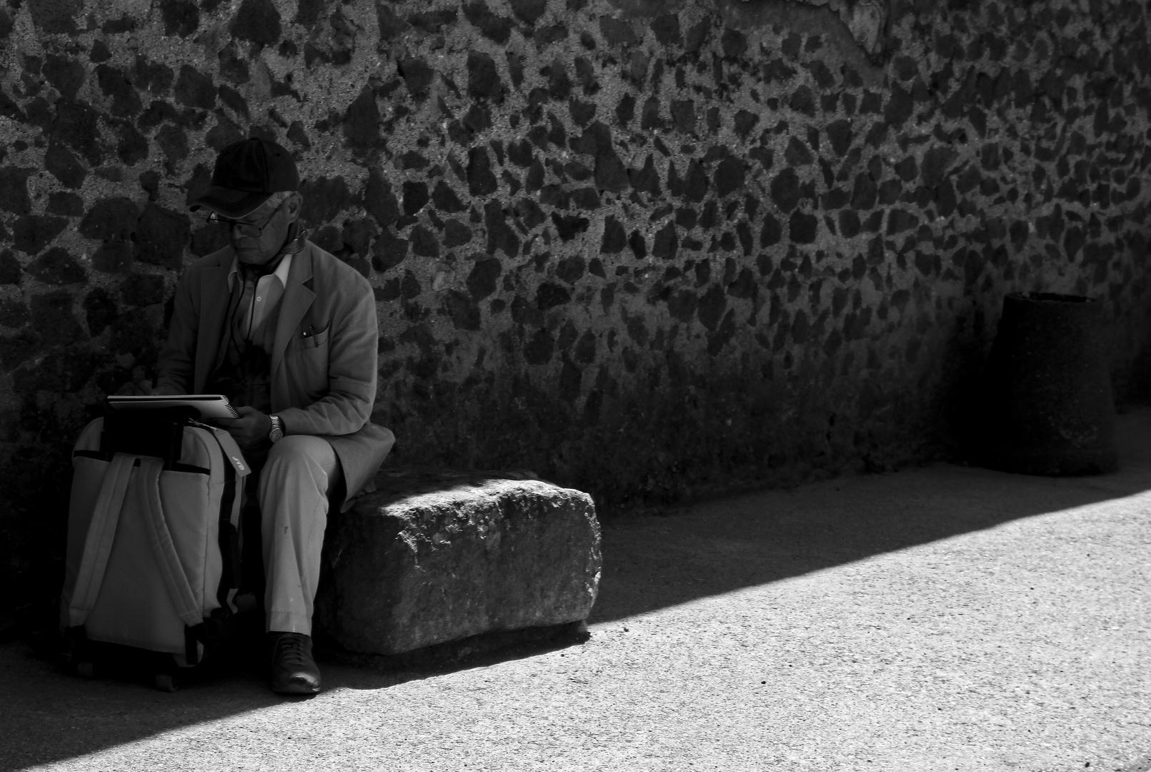 Im Schatten lests sichs leichter