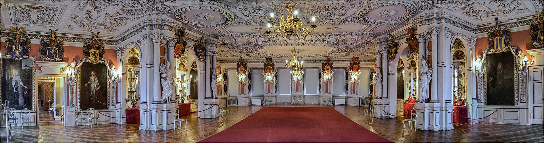 Im Schloß Friedenstein von Gotha