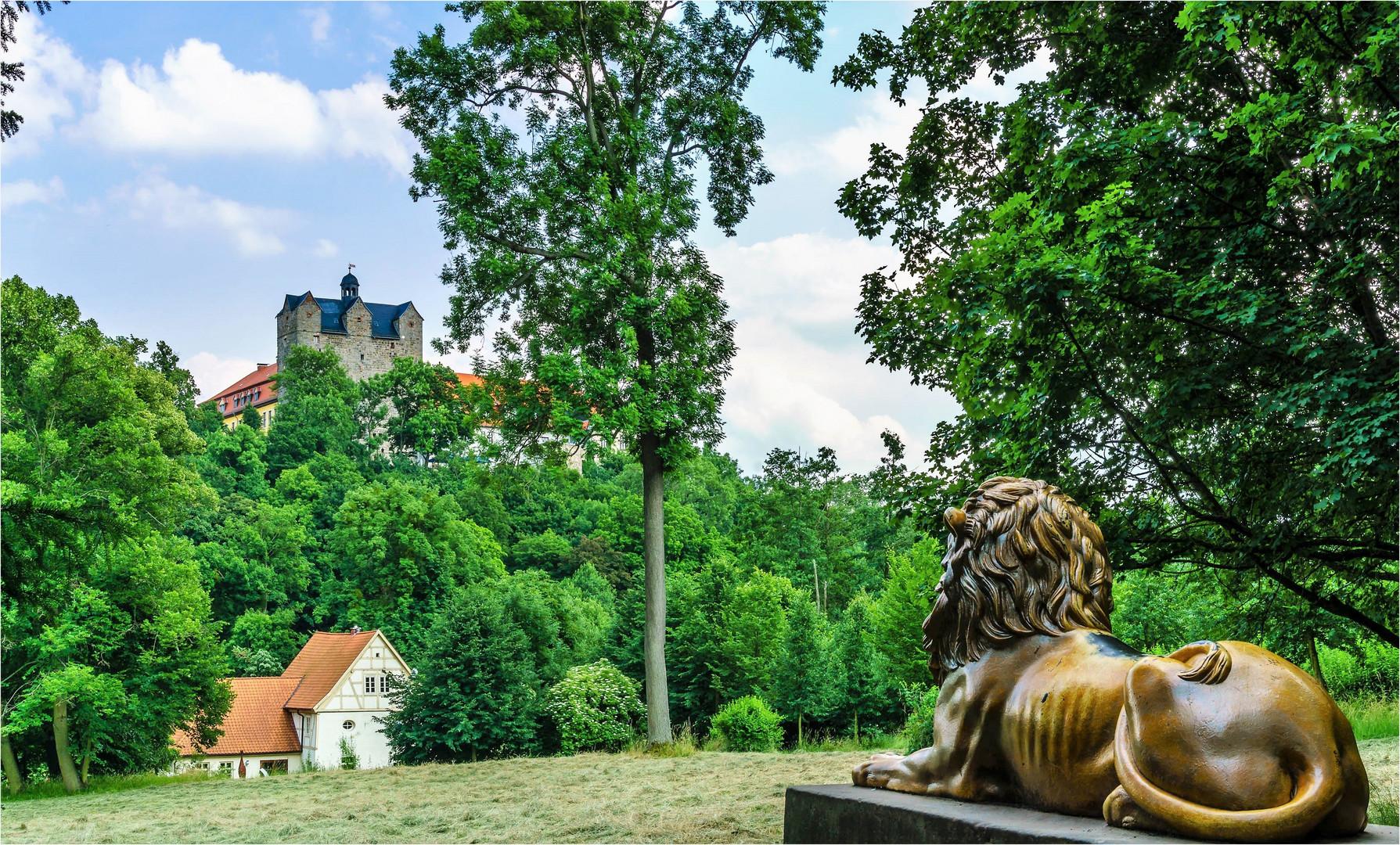 Im Schlosspark Ballenstedt (2)