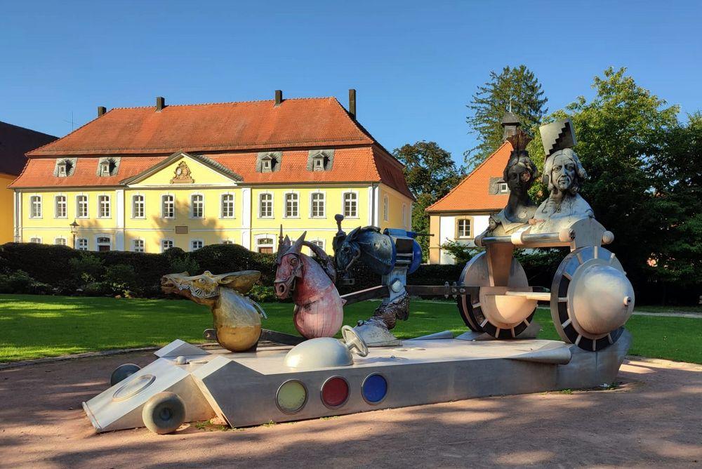 Im Schlosspark Eichtersheim