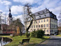 im Schlosspark Gersfeld