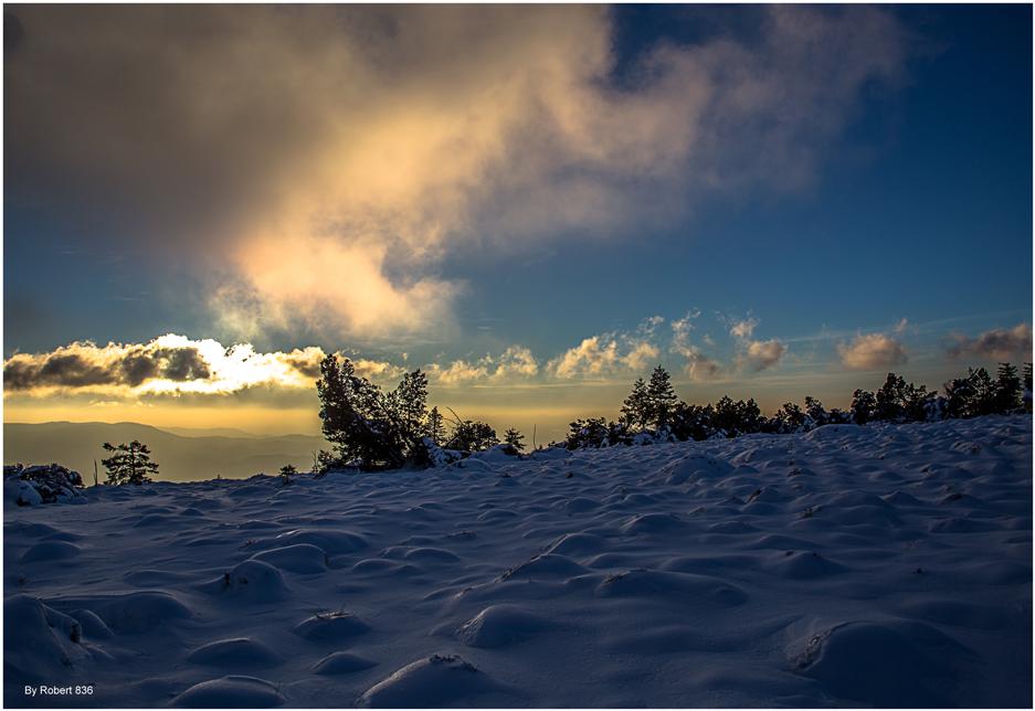 Im Schneehügelland...