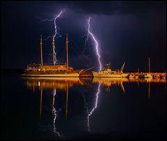 ...im sicheren Hafen....