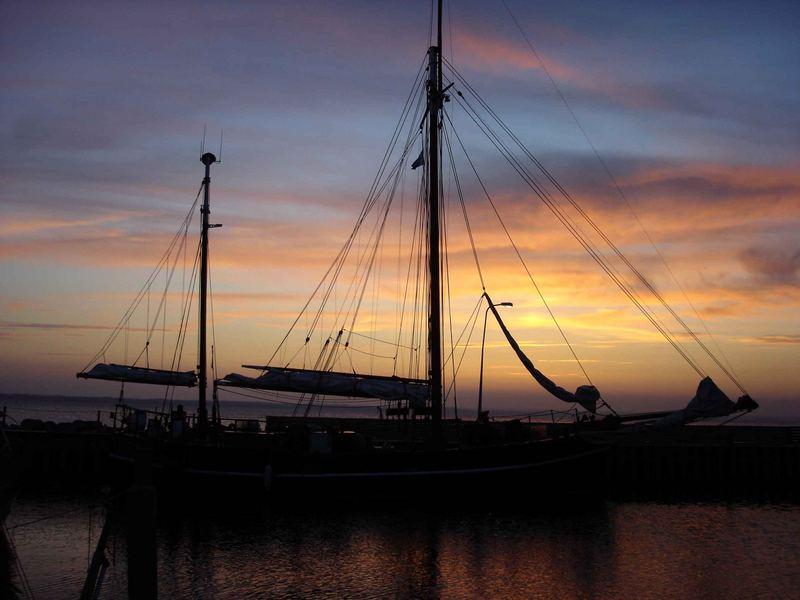 Im sicheren Hafen - die Nacht kann kommen