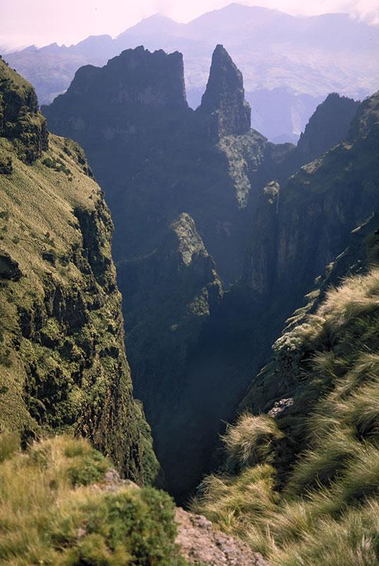 Im Simien-Gebirge
