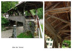 im Simmental, Schweiz