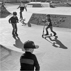 Im Skatepark 4