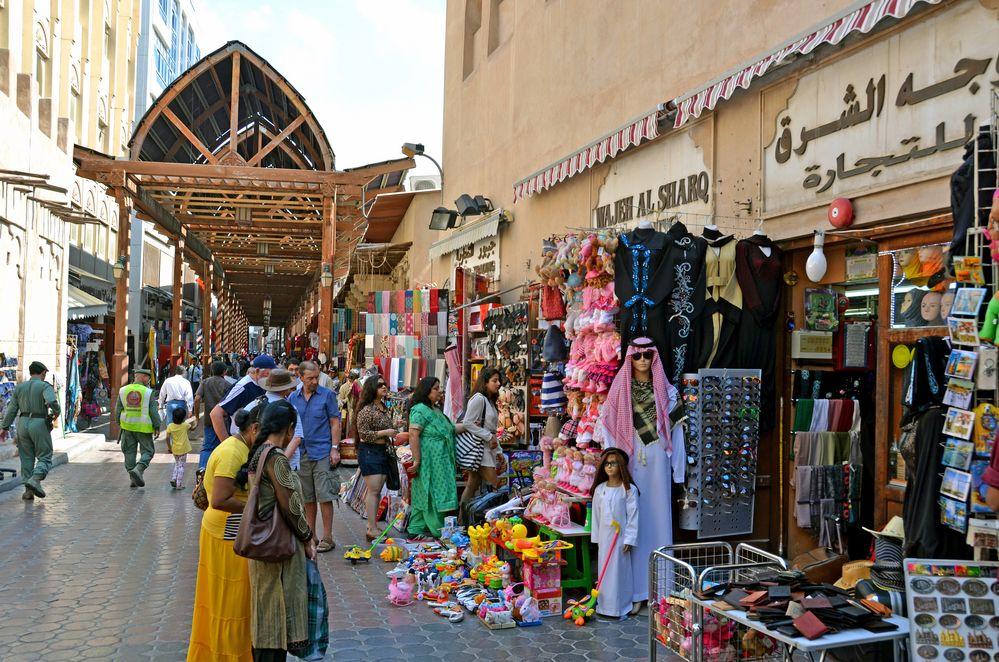 Im Souq von Bur Dubai