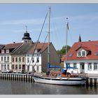 Im Stadthafen Ueckermünde