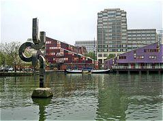 Im Stadtteil Docklands