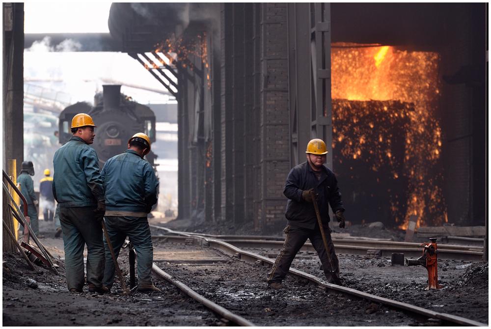 Im Stahlwerk II - Gleislage gut?