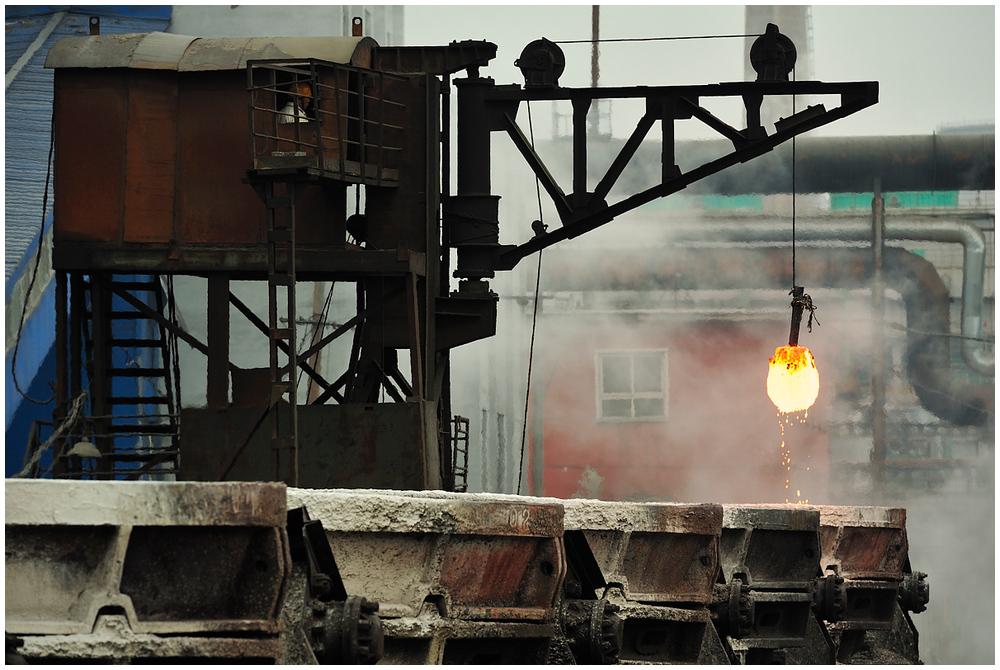 Im Stahlwerk XXI - Die Glühbirne