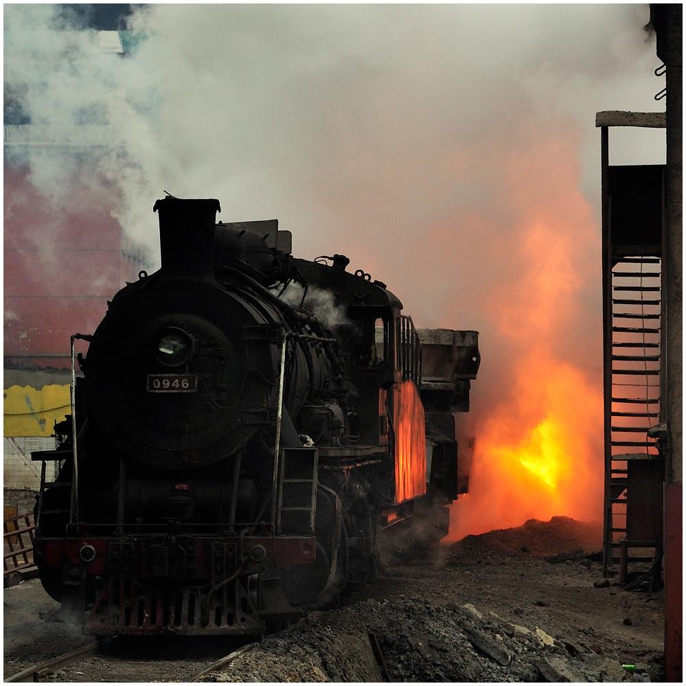 Im Stahlwerk XXIII - Feuerzauber