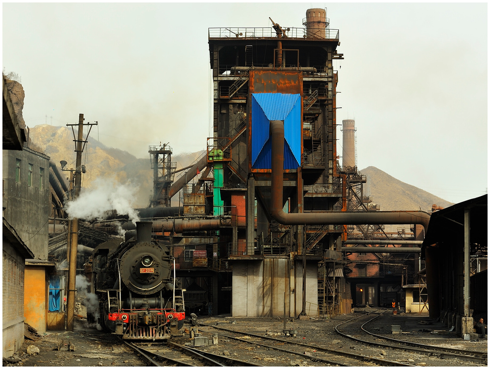 Im Stahlwerk XXIX - Hochofengruppe