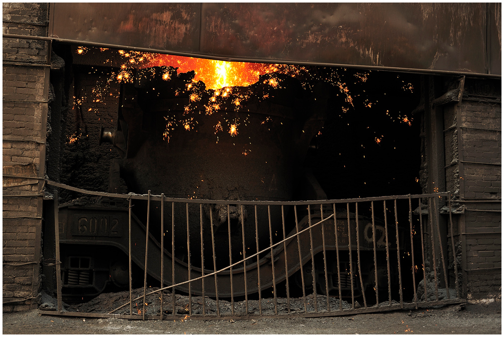 Im Stahlwerk XXXIII - Am Hochofen III