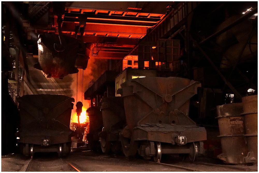 Im Stahlwerk XXXV - Konverter