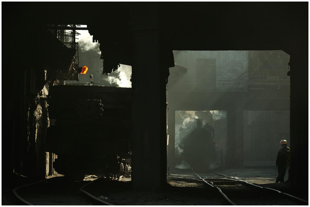 Im Stahlwerk XXXVI - Frühschicht