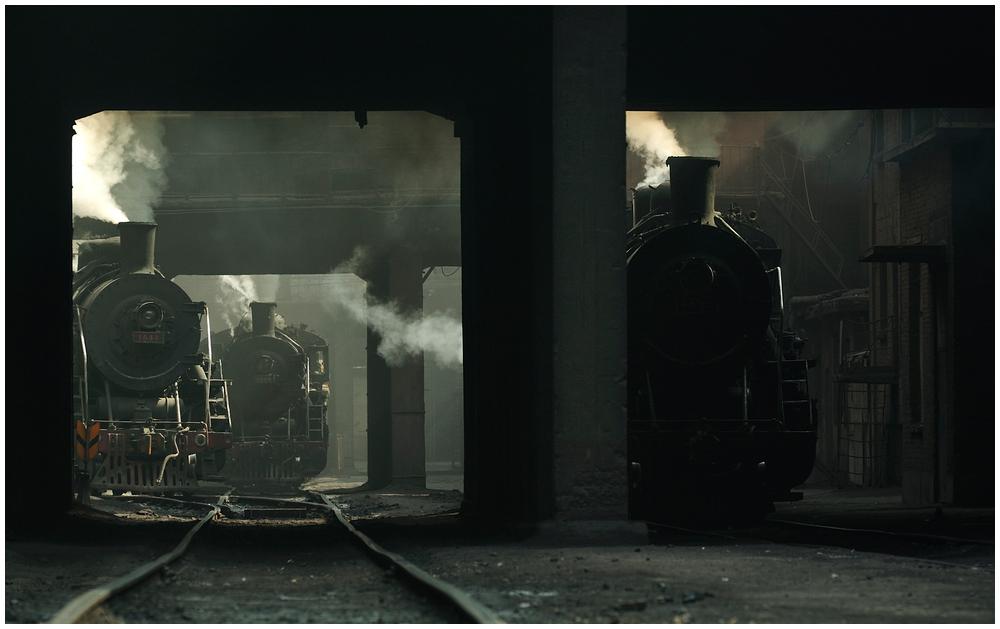 Im Stahlwerk XXXVII - SY in Lauerstellung