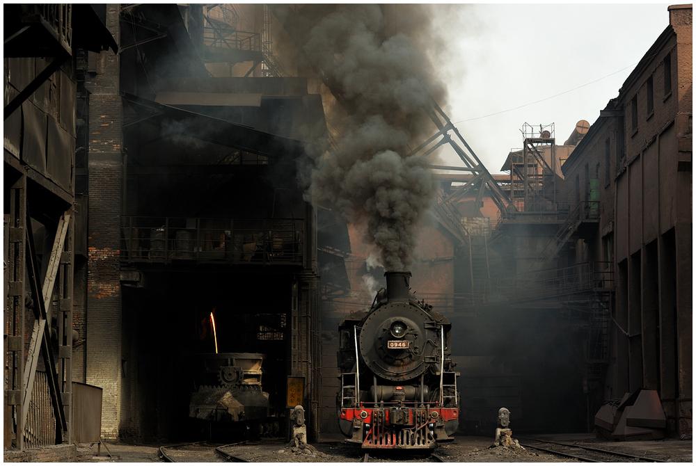 Im Stahlwerk XXXVIII - Wie vor 40 Jahren