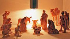 Im Stall von Bethlehem war es sicher nur in den Herzen so hell , bei den ärmlichen ...