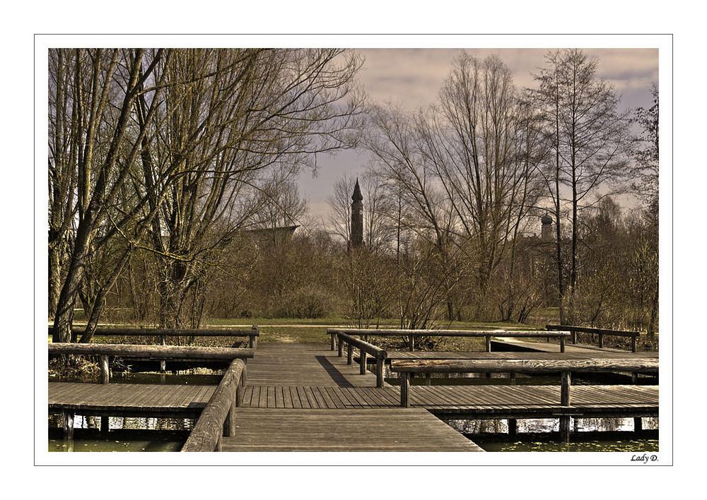 im straubinger Stadtpark