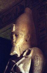 Im Tempel von Abu Simbel