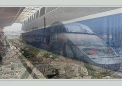 Im TGV nach Paris