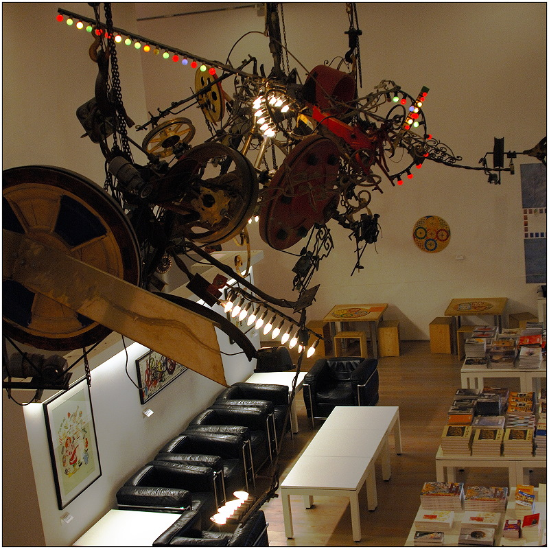 ... im Tinguely-Museum in Basel ...